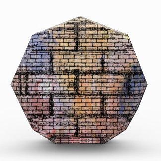 colorful brick acrylic award