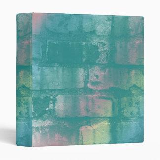 Colorful Brick Binder