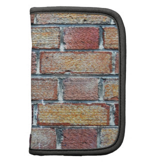 Colorful brick wall planner