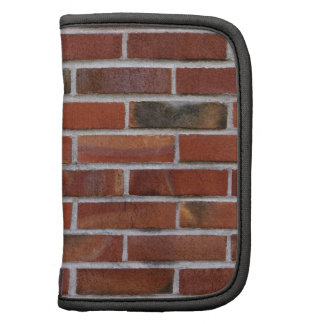 COLORFUL BRICK WALL FOLIO PLANNERS