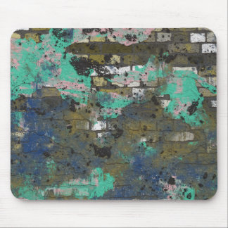 Colorful Brickwall TPD Mouse Pad