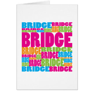 Colorful Bridge Greeting Cards