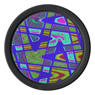 Poker chip color codes