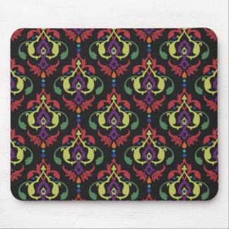 Colorful Brocade Fleur Design  Mouse Pad