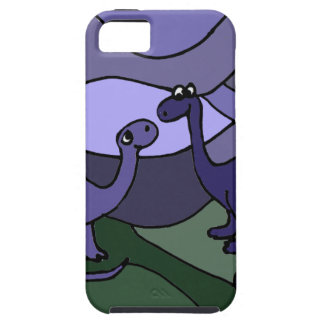 Colorful Brontosaurus Dinosaur Art iPhone 5 Case