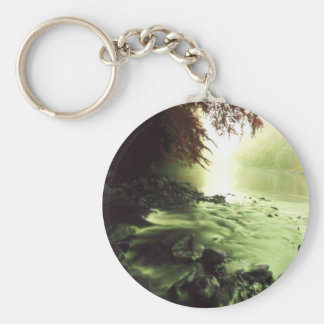 Colorful Brook Keychain