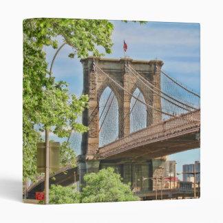 "Colorful Brooklyn Bridge 1"" Photo Album Binder"