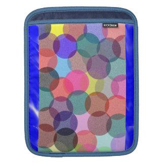 Colorful Bubble  Rickshaw iPad sleeve