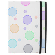 "Colorful Bubbles Ipad Pro 12.9"" Hard Cover Case"