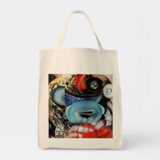 colorful Bubbles, photography, glass object, gold Tote Bag