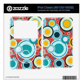 Colorful Bubbles Skins For The iPod