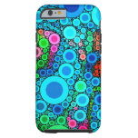 Colorful Bubbly Concentric Circles iPhone 6 Cases