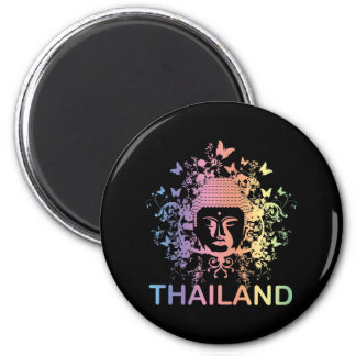 Colorful Buddha thailand Magnets