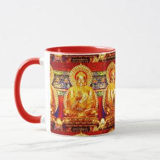 COLORFUL BUDDHA YOGA MUG ARA