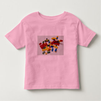 Colorful building blocks for kids t-shirt