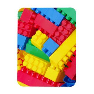 Colorful Building Blocks Magnet