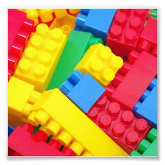 Colorful Building Blocks Art Photo