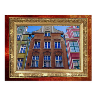 Colorful Buildings in Gdansk Danzig Poland Post Cards
