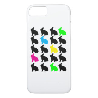 Colorful Bunnies iPhone 7 Case