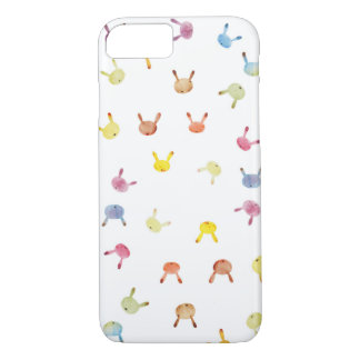 Colorful Bunnny iPhone 8/7 Case