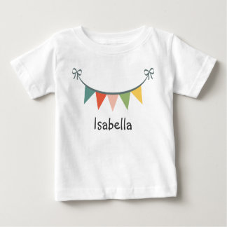 Colorful Bunting Banner T-Shirt Toddler