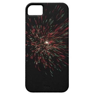 Colorful burst of firecracker during Diwali iPhone 5 Covers