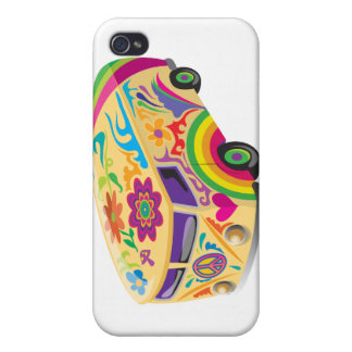 Colorful Bus Covers For iPhone 4
