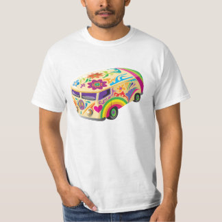 Colorful  Bus T-Shirt