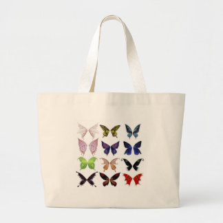 Colorful butterflies bags