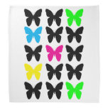 Colorful Butterflies Bandana