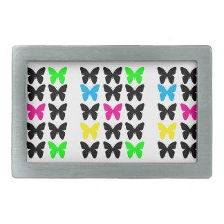 Colorful Butterflies Belt Buckles