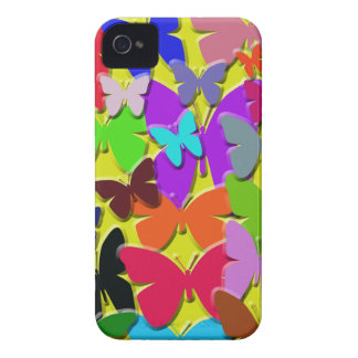 Colorful Butterflies Blackberry Bold Case-Mate Cas iPhone 4 Cases