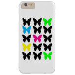 Colorful Butterflies Barely There iPhone 6 Plus Case