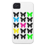 Colorful Butterflies Case-Mate iPhone 4 Cases