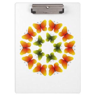 Colorful Butterflies Clipboard