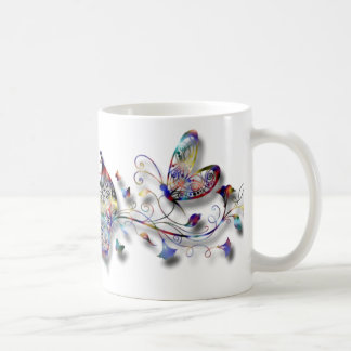 Colorful Butterflies Coffee Mug