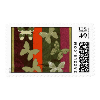 Colorful Butterflies  Design Postage