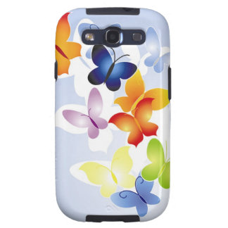 Colorful Butterflies Galaxy SIII Case