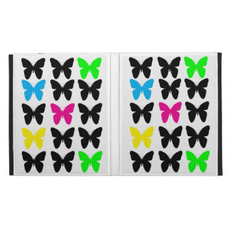 Colorful Butterflies iPad Folio Covers