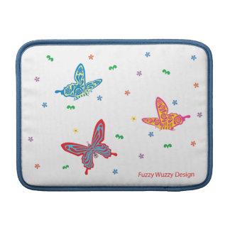 """""""Colorful Butterflies"""" MacBook Air Sleeve"""