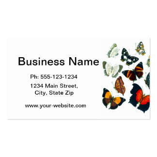 Colorful Butterflies no.13 home decor Business Card