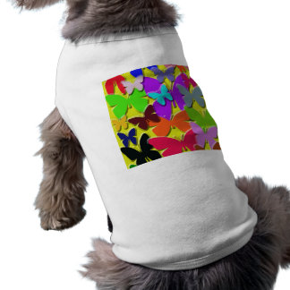 Colorful Butterflies Pet Clothing