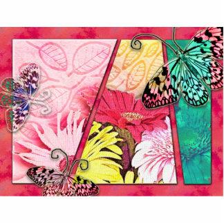 Colorful Butterflies Cut Out
