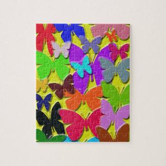 Colorful Butterflies Puzzle