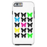 Colorful Butterflies Tough iPhone 6 Case