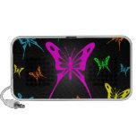 Colorful Butterflies Travel Speaker