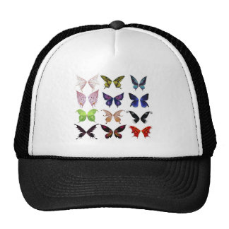 Colorful butterflies trucker hat