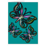 Colorful Butterfly 1 Card