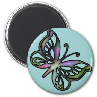 Colorful Butterfly 1 Magnet