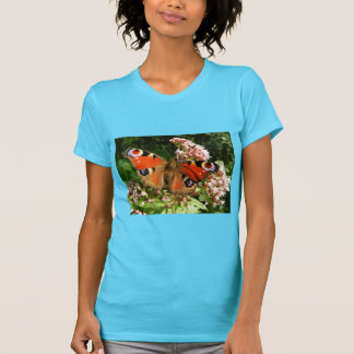 Colorful Butterfly Blossom Flower Whimsical Custom Tee Shirt